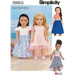 Wykrój Simplicity 8903