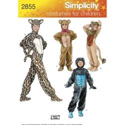Wykrój Simplicity 2855