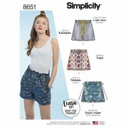 Wykrój Simplicity 8651