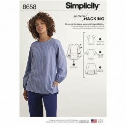 Wykrój Simplicity 8658