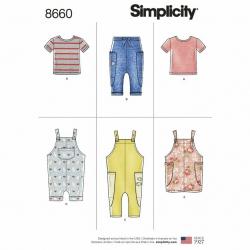 Wykrój Simplicity 8660
