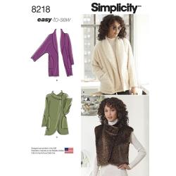 Wykrój Simplicity 8218