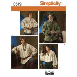Wykrój Simplicity 3519