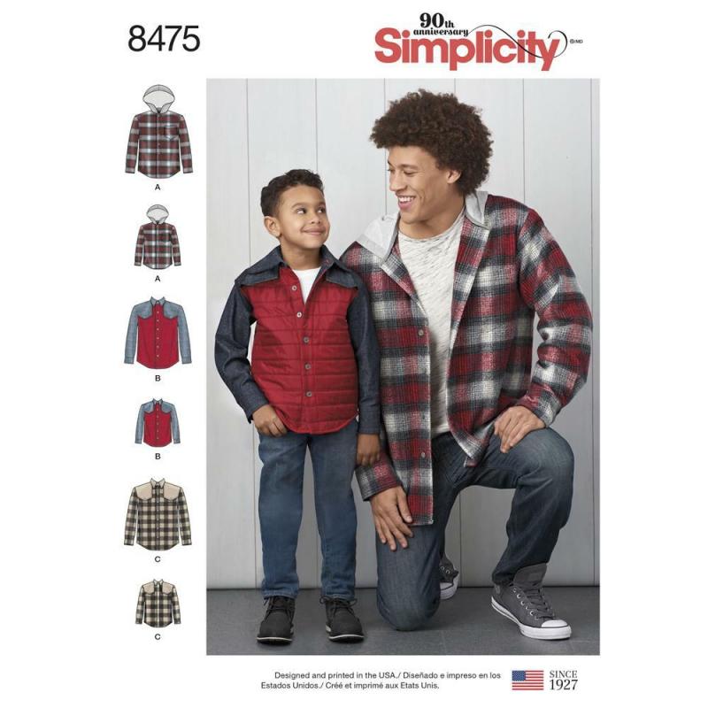 Wykrój Simplicity 8475