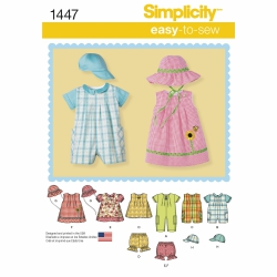 Wykrój Simplicity 1447