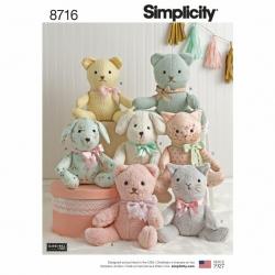 Wykrój Simplicity 8716