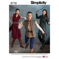 Wykrój Simplicity 8718