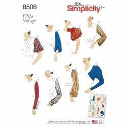 Wykrój Simplicity 8506